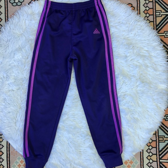sneakers for cheap classic style discount shop Girls Adidas purple joggers